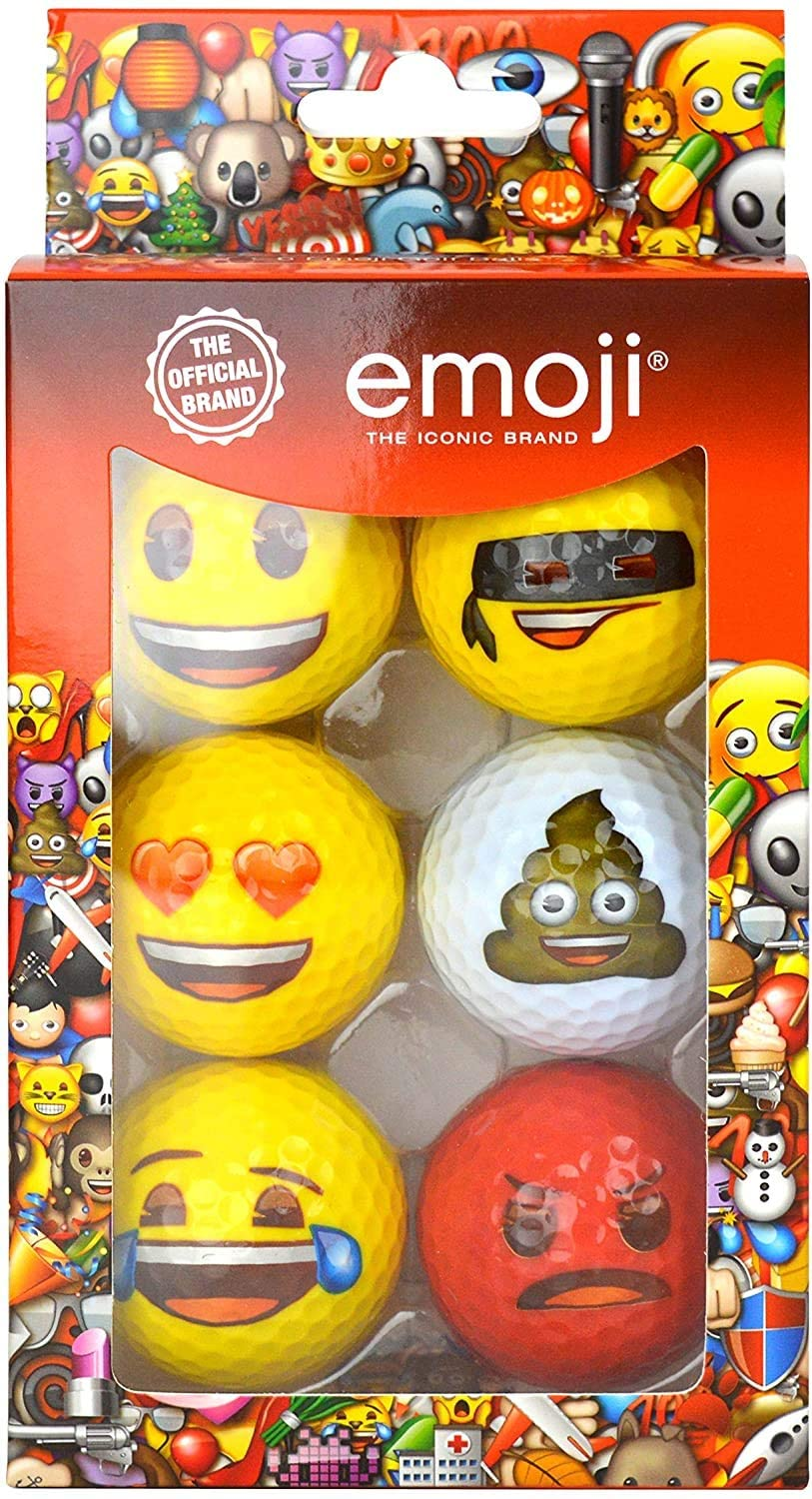 Emoji Golf Ball Pack