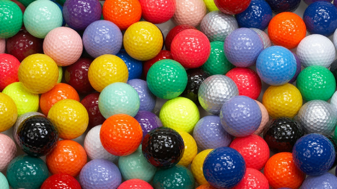 Pack of 6 Golf Balls