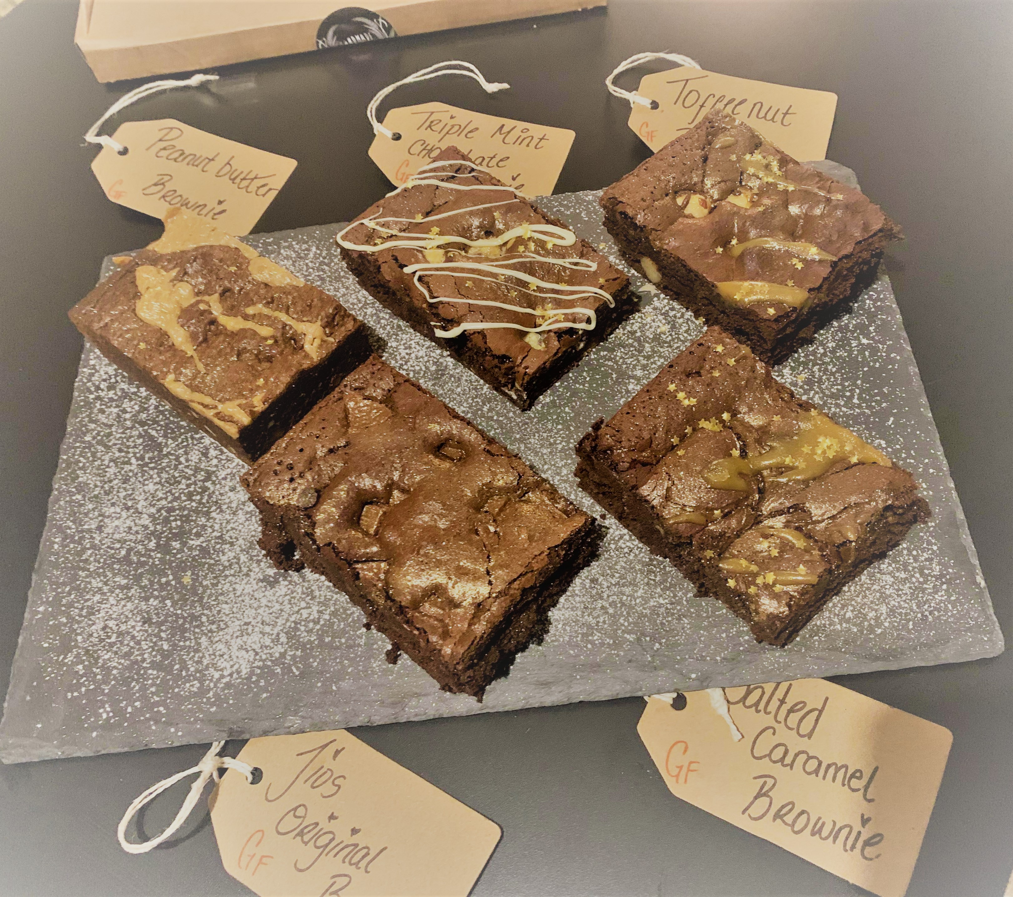 Brownie Selection Box (by Jios GF Traybakes)
